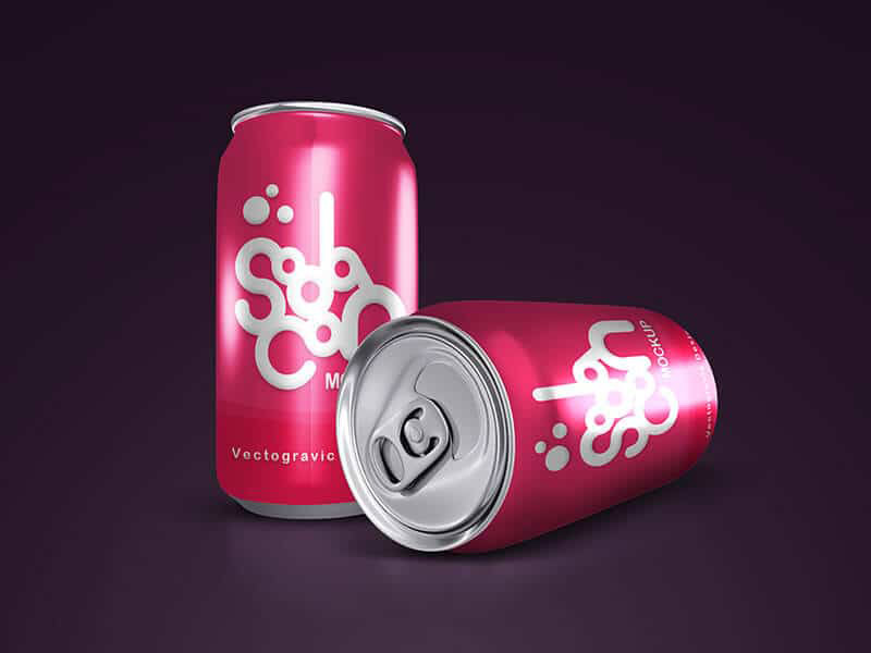 free Can mockups